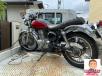 名古屋市西区平中町 バイク買取 エストレア外装下