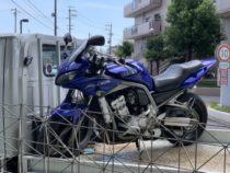 名古屋市港区龍宮にてバイク買取 FZS1000