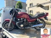 中川区冨田 バイク買取 CB750 教習車 長期放置