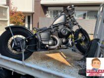 守山区八反 バイク買取 ドラックスター400フル改造(4TR)