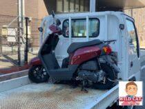 豊川市諏訪 バイク買取 HONDAタクト(AF79) 左側転倒車