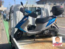 岡崎市六名本町 バイク買取 アドレスV125 7万キロ