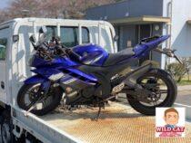 東海市富木島町 バイク買取 YZF-R15 欠品 長期放置不動車