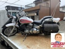 名古屋市中村区元中村にてバイク買取 ドラックスター400(4TR)不動車