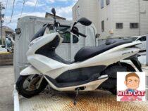 東海市名和町 バイク買取 HONDA PCX125(JF28) 外装下