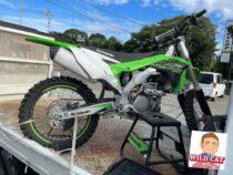常滑市小鈴谷 バイク買取 KAWASAKI KX250F コンペ車両