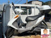 豊田市喜多町 バイク買取 アドレスV125 6万キロ過走行 出張買取