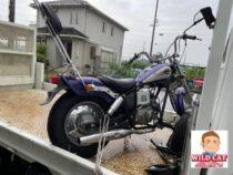 名古屋市緑区大清水 バイク買取 HONDA jazz 外装下 タンク凹み