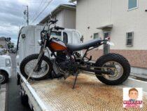TW200出張買取 浜松市北区にて