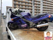 常滑市多屋町 バイク買取 ZZR1100C 5万キロオーバー外装下