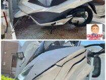 刈谷市築地町 バイク買取 PCX125(JF56)転倒車両 現金買取です